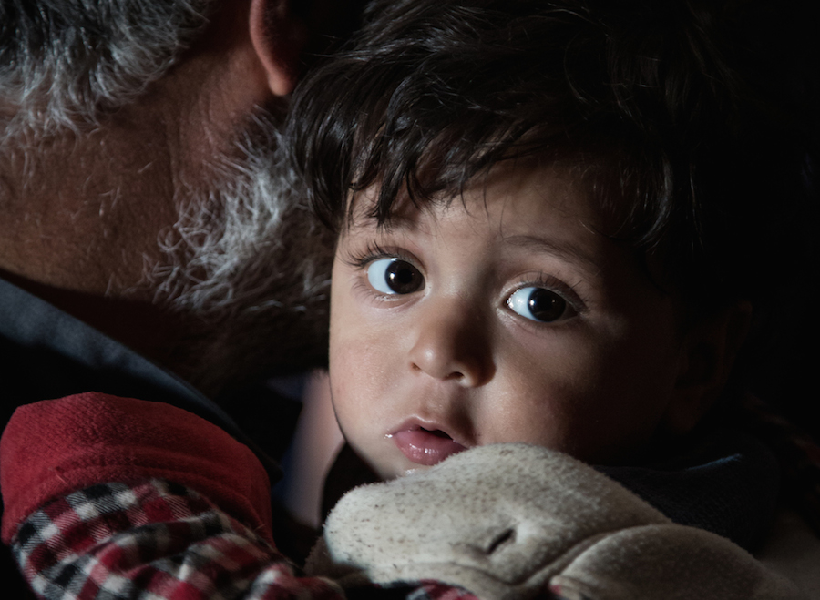 Hasan, 1, a Syrian refugee, received warm winter clothing from UNICEF, an Inspired Gift option.