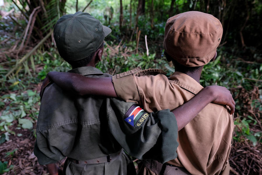 UNICEF, South Sudan, child soldiers, children in conflict