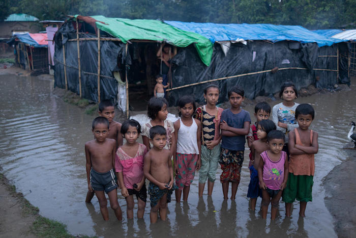 unicef, rohingya, bangladesh, monsoon