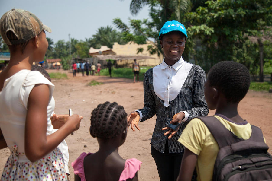 unicef, ebola, democratic republic of the congo