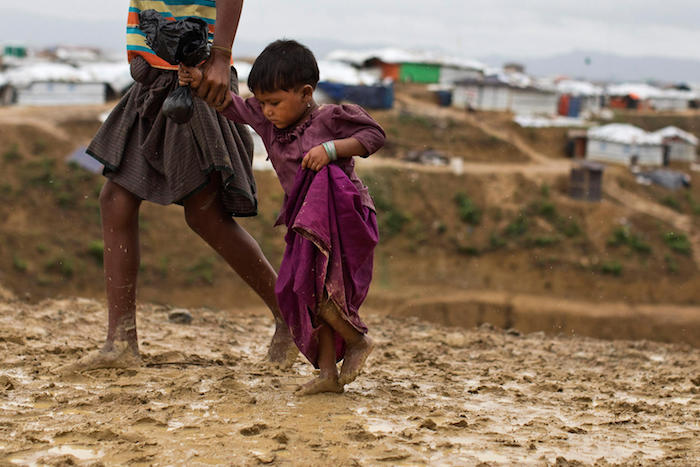 UNICEF, Rohingya, monsoon, climate change, Bangladesh, refugees