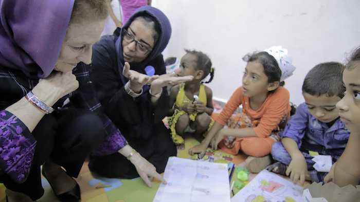 UNICEF Executive Director Henrietta H. Fore traveled to Yemen in late June, visiting UNICEF-supported centers and health clinics to discuss critical needs of children.