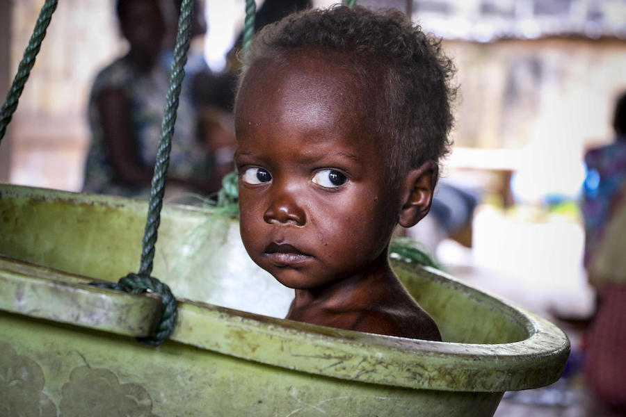 UNICEF, Central African Republic, children in conflict