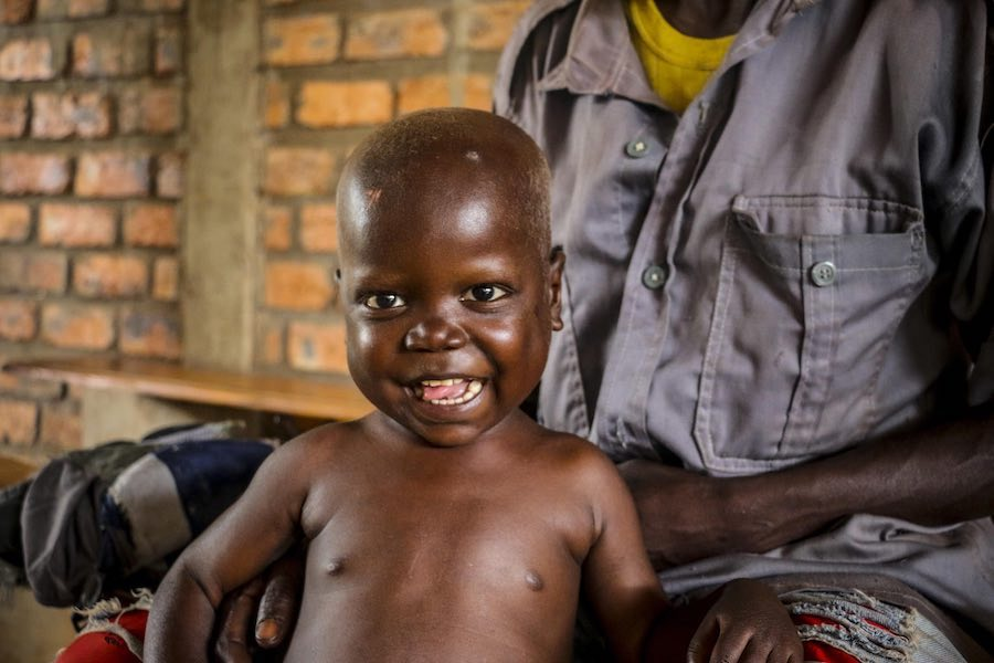 On his diet of RUTF, Pierre grew stronger by the day. Finally, after 10 days, Pierre was able to leave the UNICEF-supported hospital and continue his treatment as an outpatient at the health center near his village where his odyssey began.