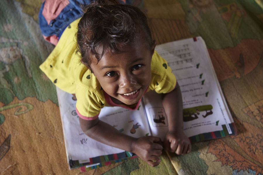 UNICEF is working to ensure that Rohingya refugee children get an education.