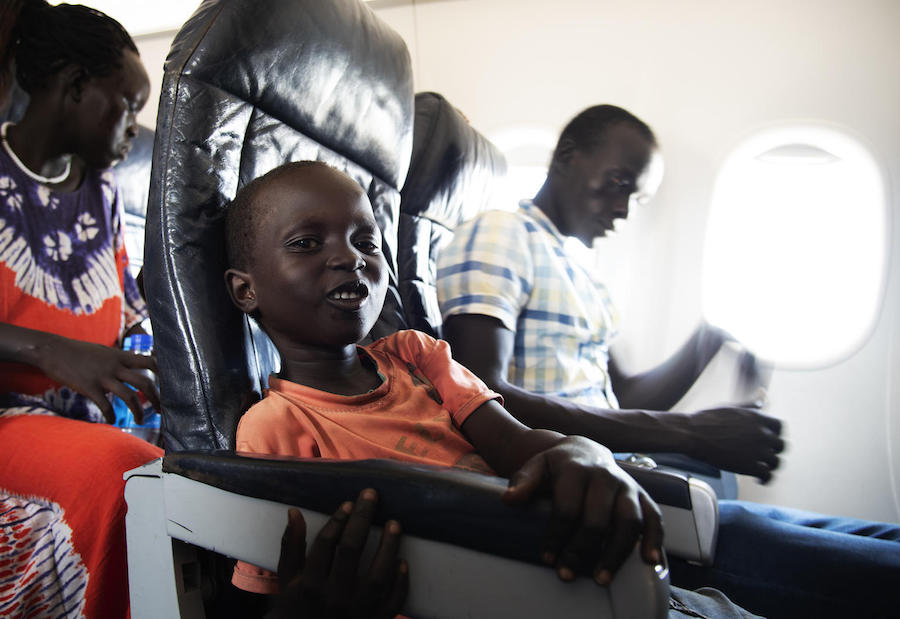 South Sudan, UNICEF, family reunification, South Sudan civil war