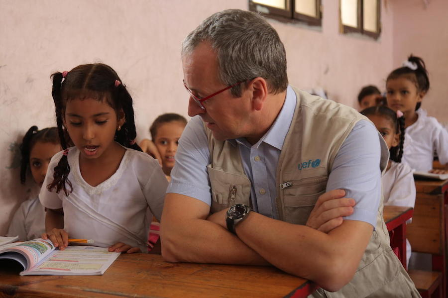 UNICEF, Yemen, humanitarian crisis, education
