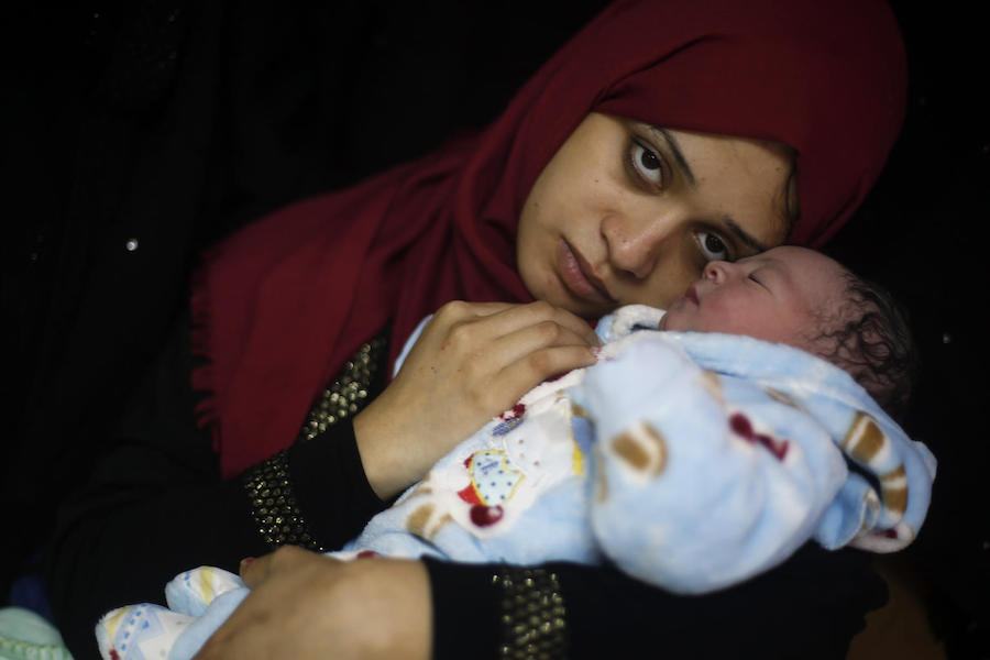 UNICEF, Palestine, newborn care