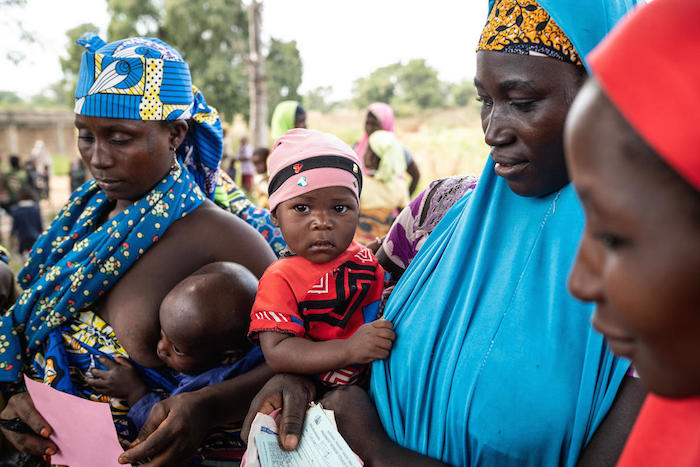 Immunizing children against meningitis is part of basic health services package UNICEF works to provide to children in hard-to-reach areas of Nigeria and other countries