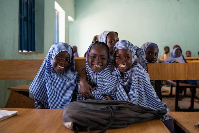 Students at Kafin Liman Primary School, Bauchi State, Nigeria.