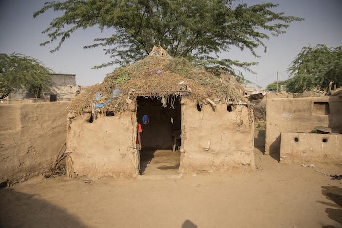 A family of nine lives in this tiny mud house in Yemen. Every time it rains, they worry that it might collapse.