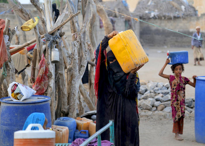 UNICEF is working with partners to provide safe, clean water for children and families in Yemen.