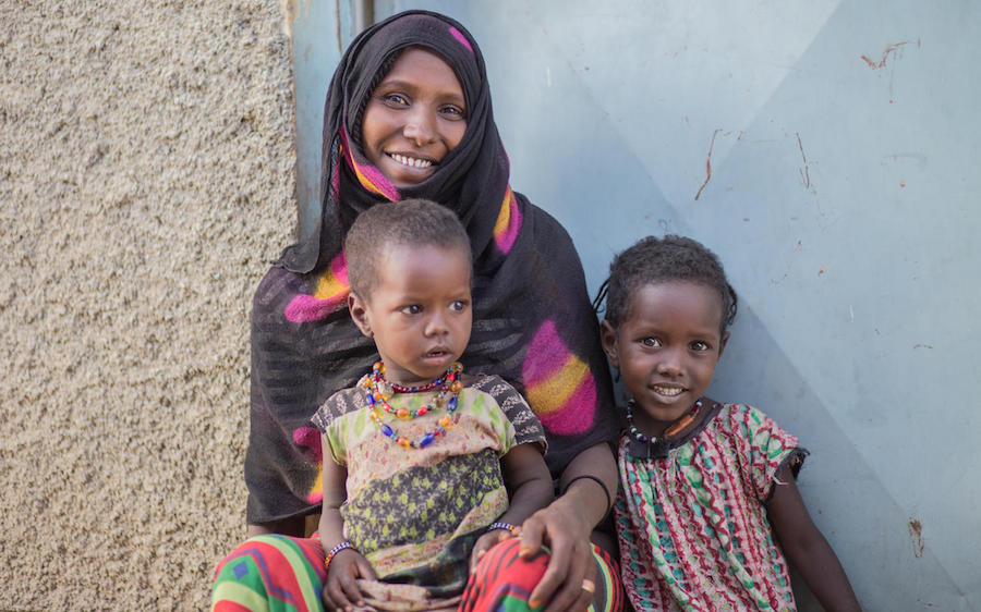 In Ethiopia in 2019, a mother who survived female genital mutilation vows that, with UNICEF's help, her daughters will not be subjected to the harmful practice.