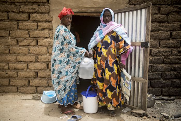 Last year, Maimouna Barry's village in Mali's Mopti region was attacked by armed groups who left over 150 people dead, one-third of them children. Maimouna is just one of the people UNICEF and partners rushed to support with water and hygiene kits, which