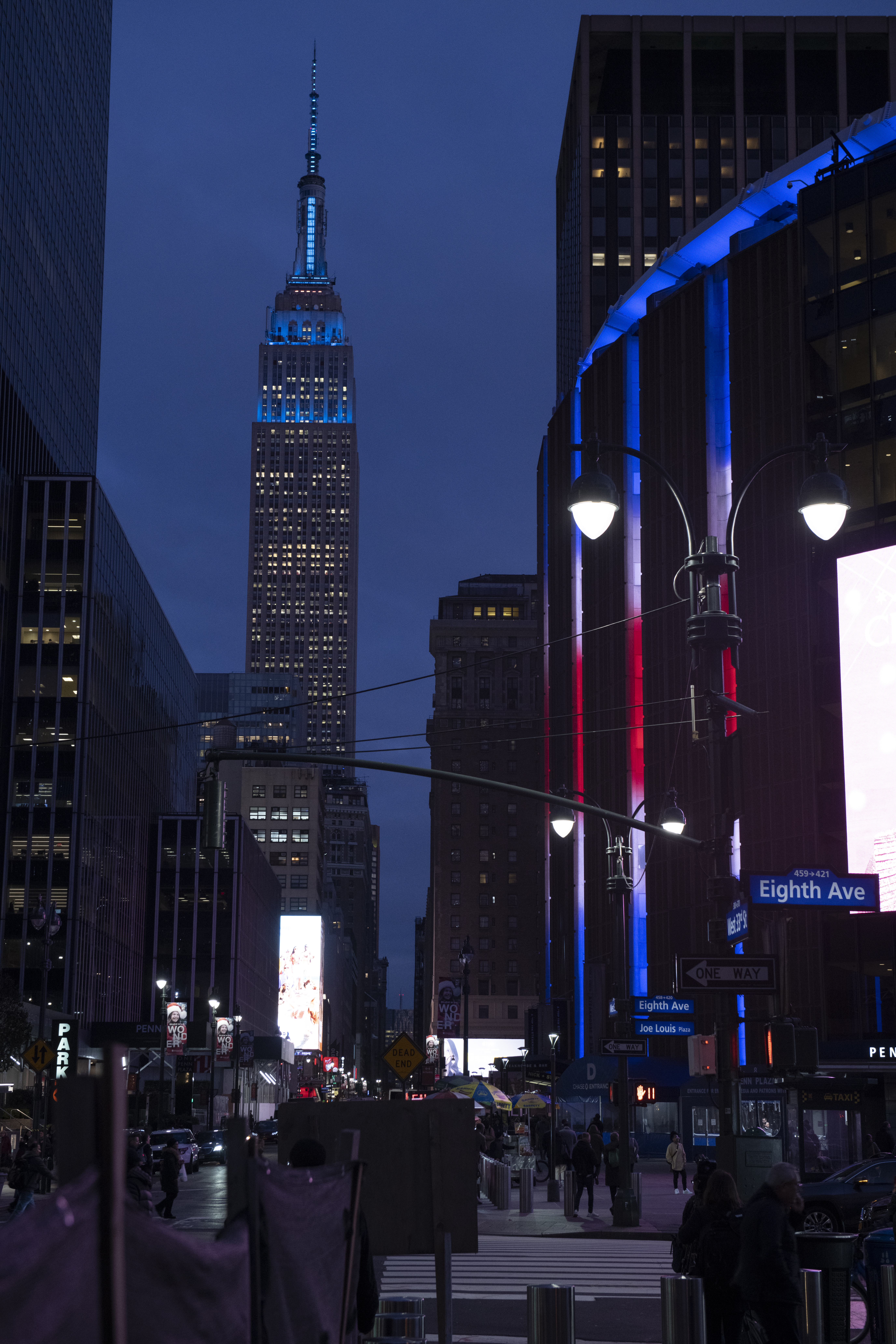Empire State Building shines blue for World Children's Day 2019