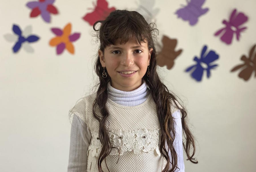 Kawthar, 10, is a Syrian refugee living in Mafraq, Jordan.