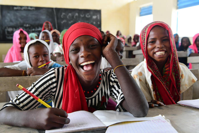 Classes have resumed at the Koranic school, in Bol, western Chad.
