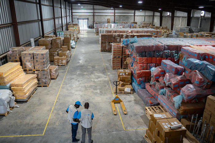 Recent developments in Haiti are heightening UNICEF's concerns that shipments of emergency supplies won't be able to get through.