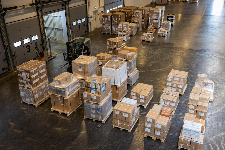 To respond to the urgent needs of those displaced by the earthquake in Haiti, @UNICEF Supply Division is delivering lifesaving supplies including Emergency Health kits from the UNICEF warehouse in Copenhagen.