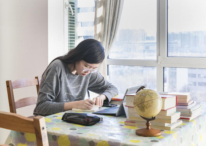 On 18 February 2020 in Beijing in China, Xiaoyu starts the day at 8 AM. She logs in to an online platform launched by the Ministry of Education (MOE) and the Ministry of Industry and Information Technology.