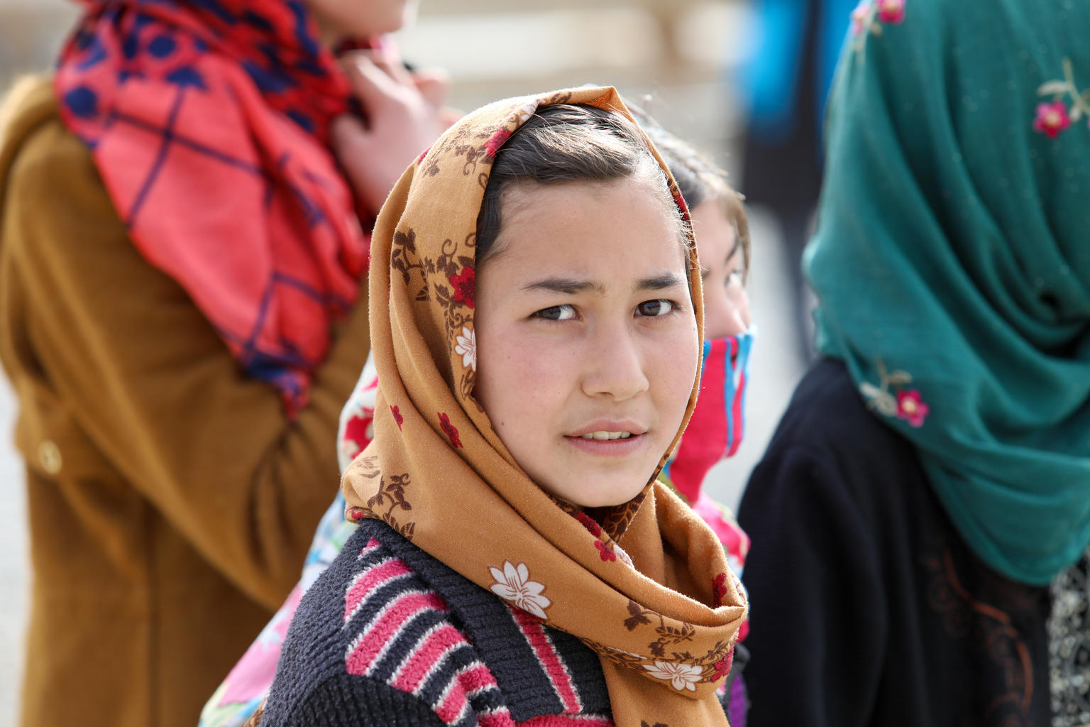 UNICEF Afghanistan is working to support adolescent girls and boys, by using sectoral and gender-based approaches for adolescent girls and boys with a focus on girls' education, prevention of child marriage