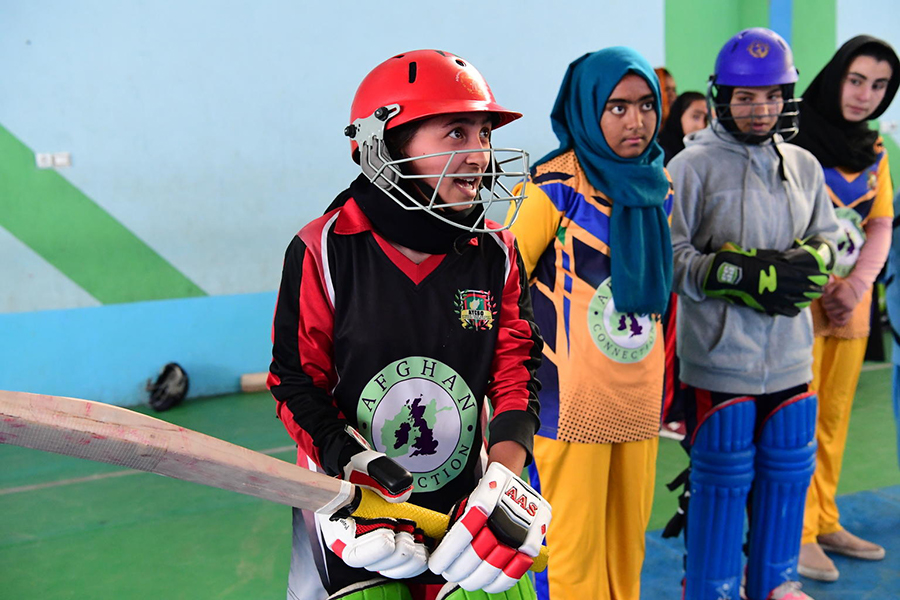 """""""We are strong and we believe that in Afghanistan, nothing is impossible."""""""
