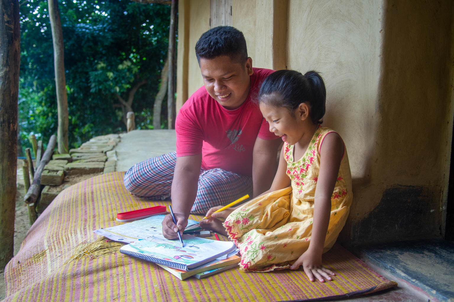 Home education project reaches children in remote parts of Bangladesh