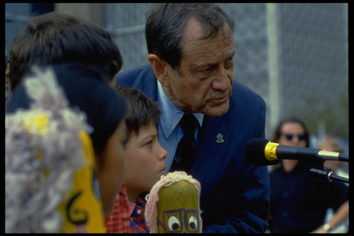 As UNICEF Executive Director between 1980 and 1995, Jim Grant spoke out on behalf of the world's children and made great strides to protect their lives and futures.
