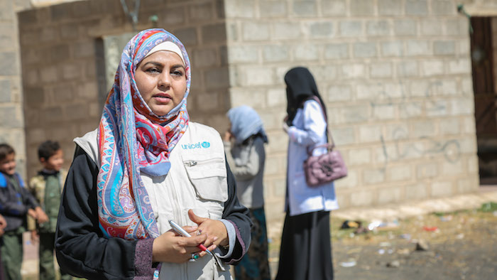 Dr. Nuzhat Rafique, UNICEF health manager, describes the need to strengthen community health networks and primary health care facilities in Yemen after five years of war.