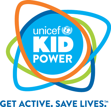 UNICEF Kid Power: Get Active. Save Lives. (Logo)