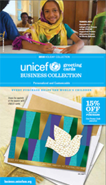 Download the latest UNICEF Business Collection catalog