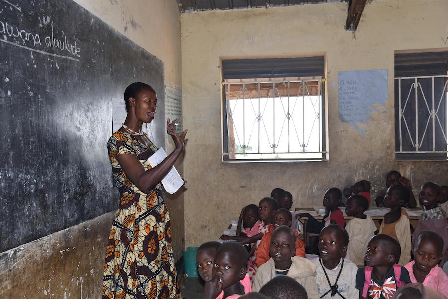 unicef, education, uganda, teachers