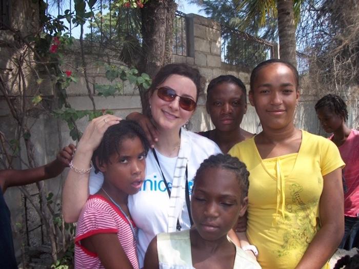 In the weeks after Haiti's devastating earthquake in 2010, Lisa Szarkowski traveled to Haiti as part of UNICEF USA's emergency response team.