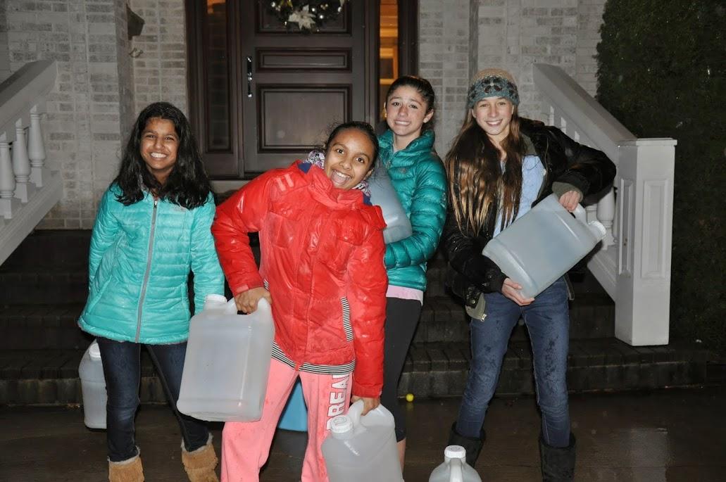Young Ambassadors Water Walk