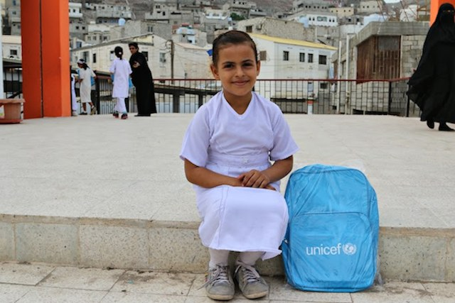 The year-long brutal conflict in Yemen has made education for about 2.9 million children an elusive goal