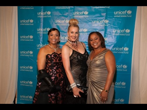U.S. Fund for UNICEF, Southwest Region Board Chair, Eileen Lawal with Board Member Kimberly DeLape and Regional Managing Director Dr. Monica Williams.