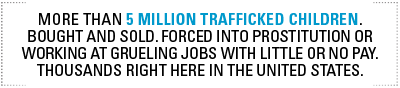 5 Million text for End Trafficking