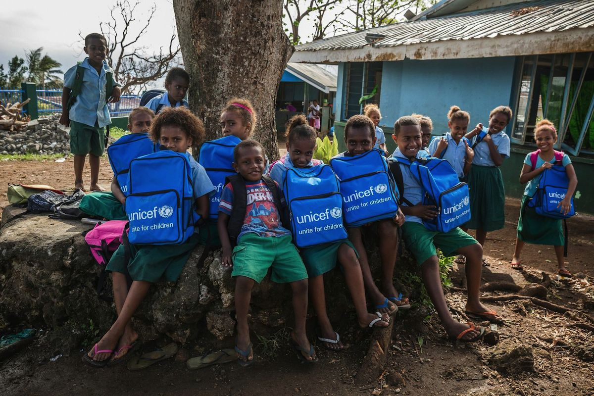 Back to School in Vanuatu: UNICEF Helps Kids Be Kids Again ...