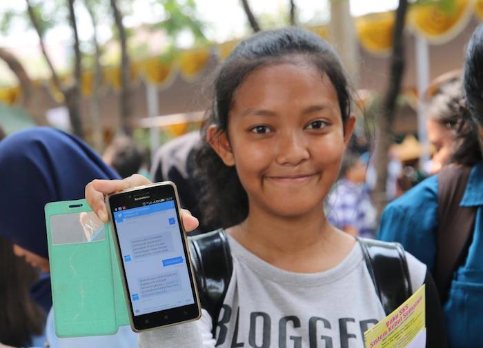 In Indonesia, the government teamed up with UNICEF to poll young people about their understanding of COVID-19 risks and prevention using the U-Report mobile platform.