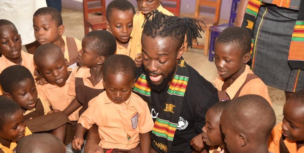 WWE Champion Kofi Kingston visits Ghana