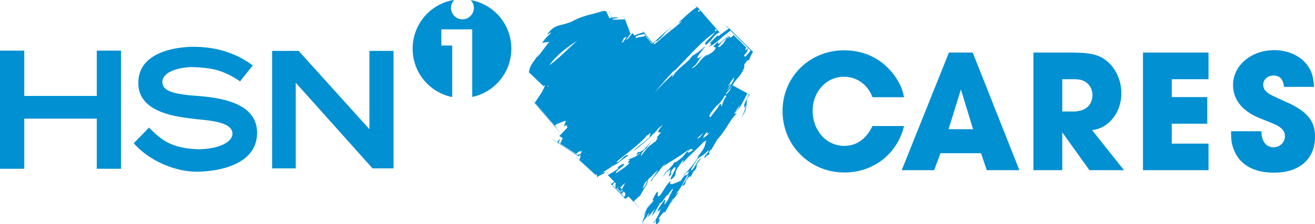 HSN Cares Logo - Blue
