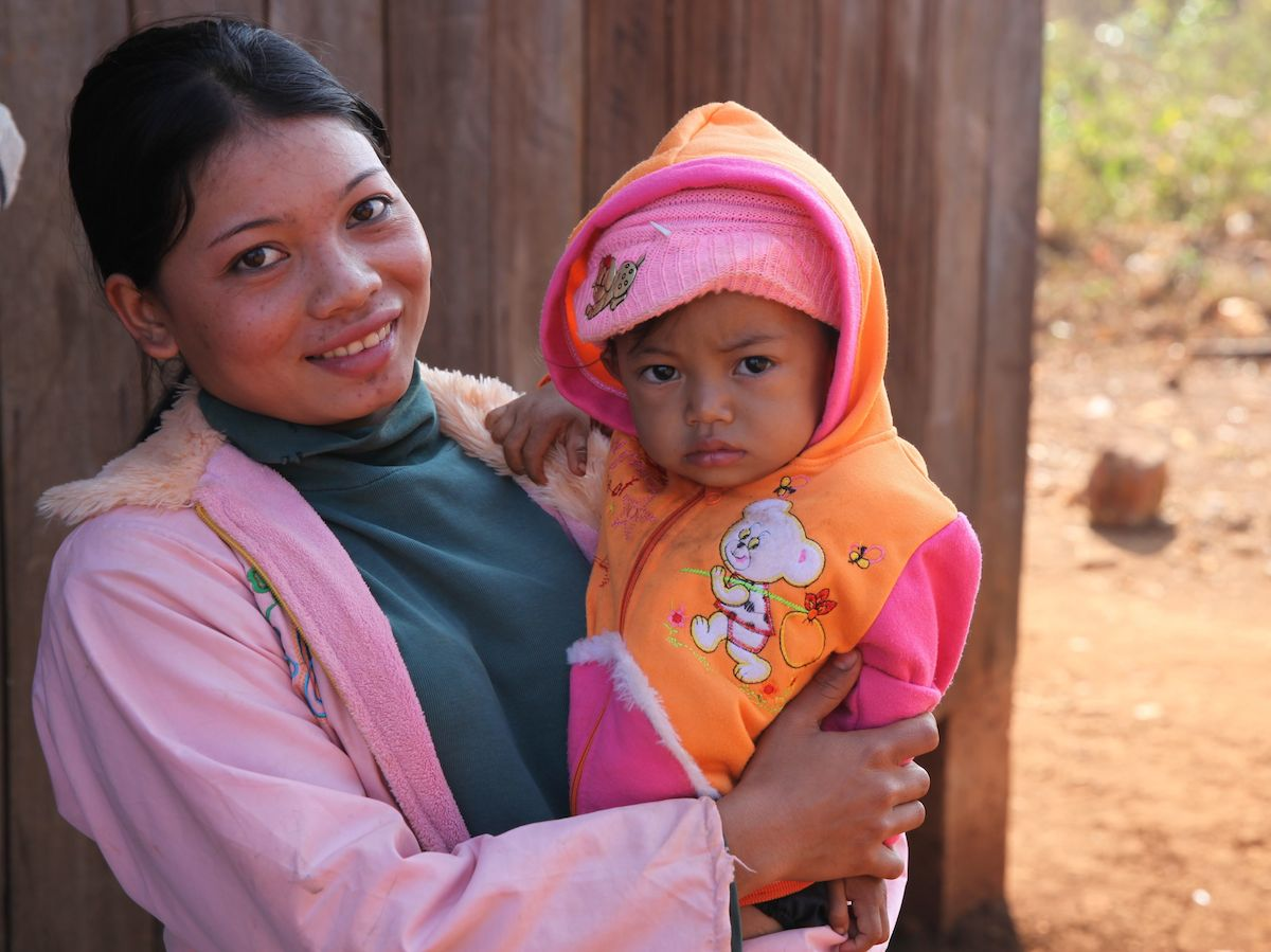 In Cambodia, UNICEF helped eliminate Maternal and Neonatal Tetanus — and the fears of mothers like Phalla Srey Lin.