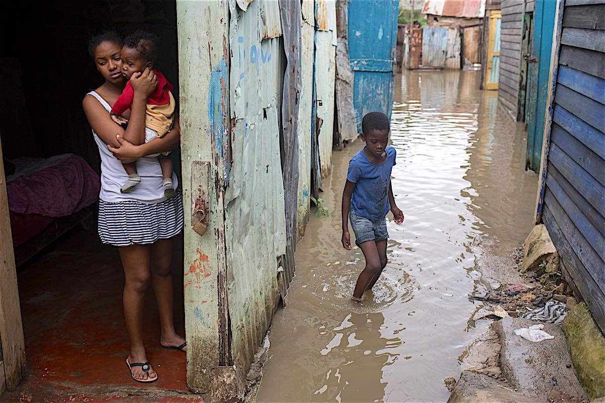 A sample of Hurricane Matthew's devastation in the Dominican Republic