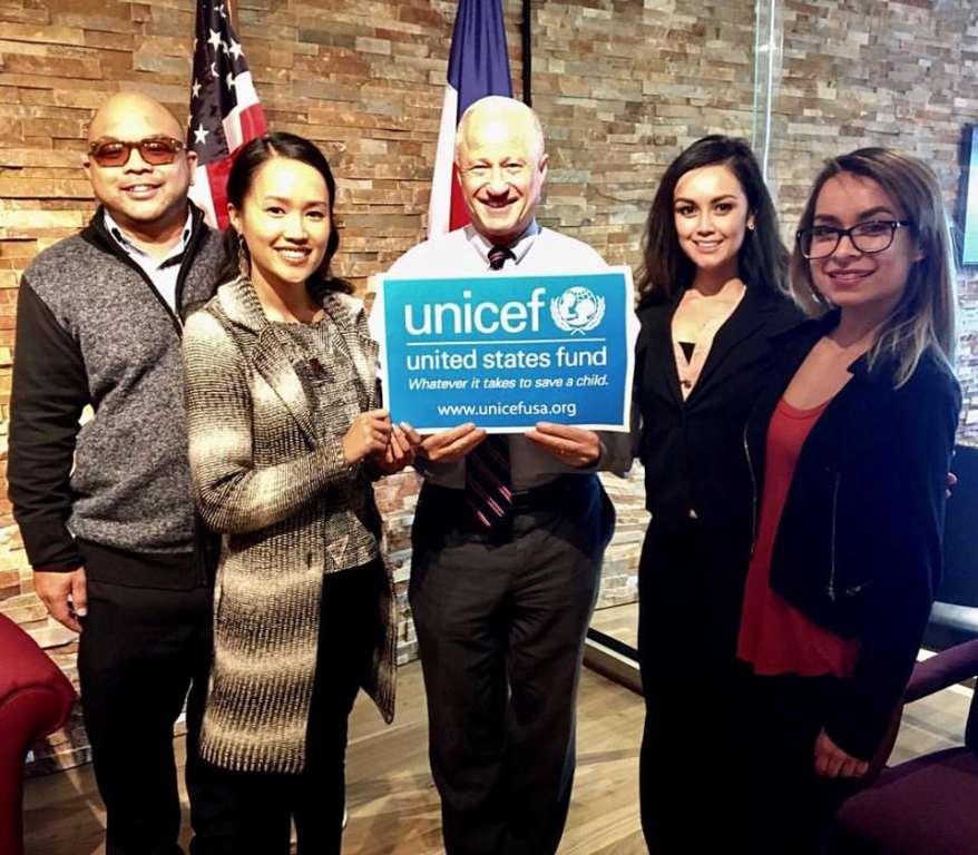 UNICEF USA Denver CAT Meeting with Rep. Coffman