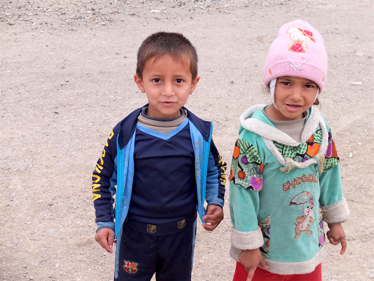 Children in Eastern Mosul, Iraq.