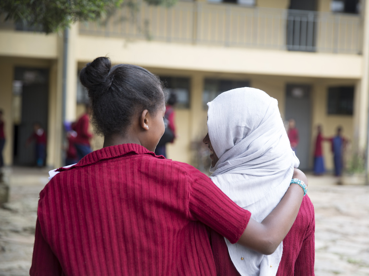 In Addis Ababa, Ethiopia, a group of teenage girls bravely spoke up about a sexually abusive teacher.