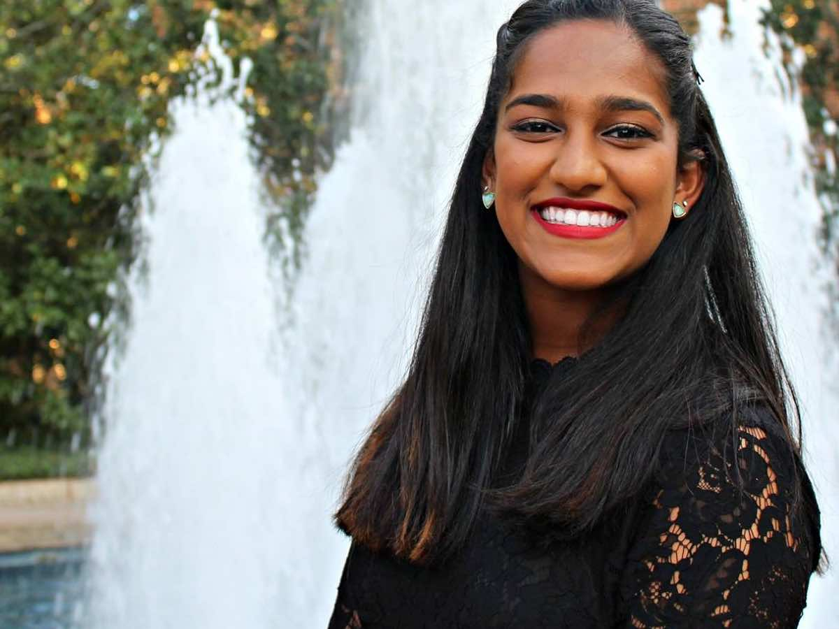 Anjali Nair, Student Leader, Engages Her Campus on Vaccination