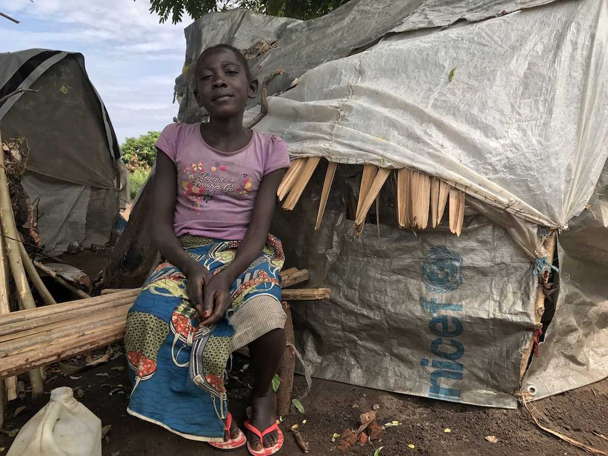 At least 1.3 million people have been displaced by violence in the provinces of Tanganyika and South Kivo in the eastern Democratic Republic of the Congo. Ngoy saw her mother killed in front of her.