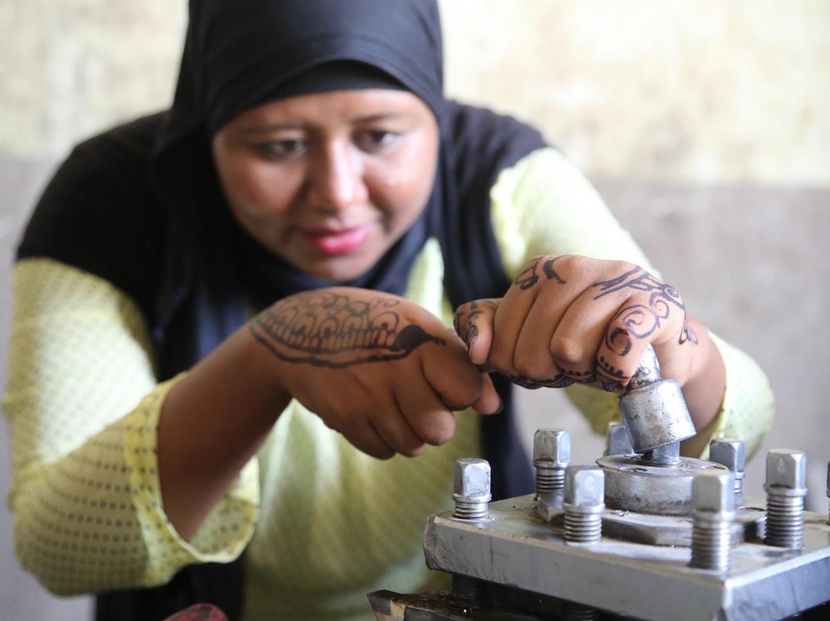 UNICEF, Egypt, career training for girls
