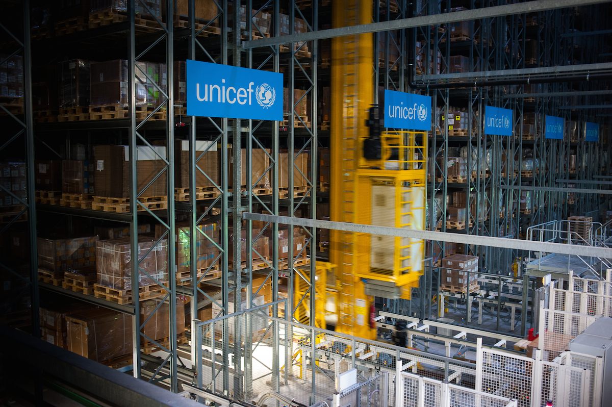 Copenhagen Warehouse is the beating heart of UNICEF's Supply Division